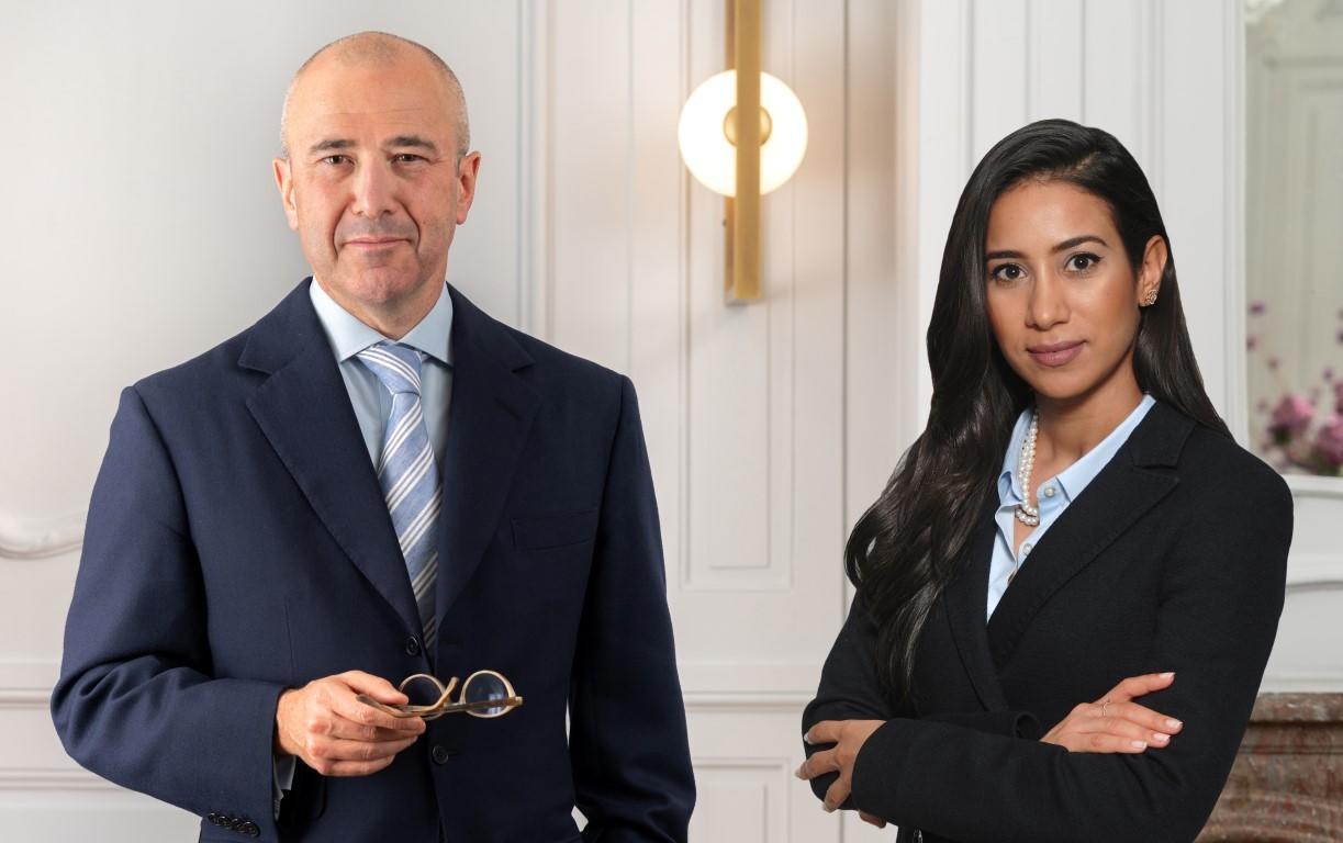 Arnaud Leclercq, Partner Holding Privé, and Soumaya Hissoussi, Senior Private Banker, Lombard Odier