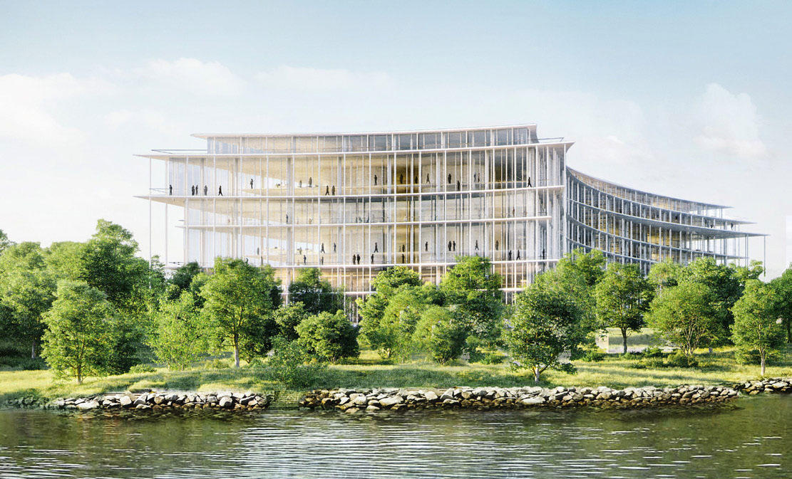 The planned new Lombard Odier headquarters in Switzerland