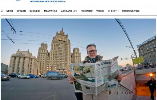 Arnaud Leclercq - Success story for a new breed of businessman (The Moscow Times)